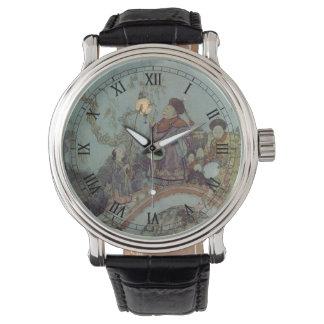 Vintage Fairy Tale, Nightingale by Edmund Dulac Wrist Watch