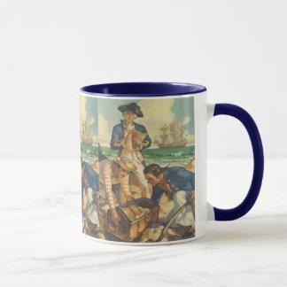 Vintage Fairy Tale Pirates, Treasure Island Mug