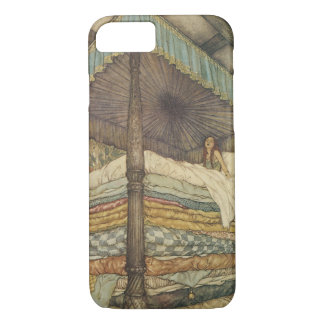 Vintage Fairy Tale, Princess and Pea, Edmund Dulac iPhone 8/7 Case