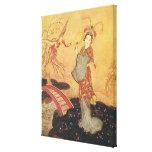 Vintage Fairy Tale Princess Badoura, Edmund Dulac Canvas Print