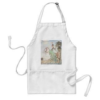 Vintage Fairy Tale, Princess Minette, Kay Nielsen Adult Apron