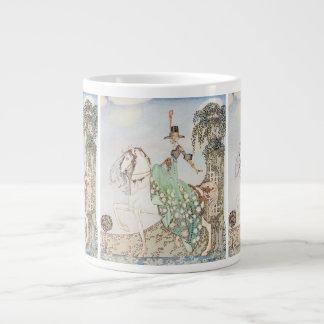 Vintage Fairy Tale, Princess Minette, Kay Nielsen Giant Coffee Mug