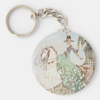 Vintage Fairy Tale, Princess Minette, Kay Nielsen Keychain