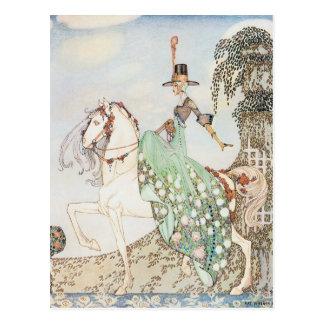 Vintage Fairy Tale, Princess Minette, Kay Nielsen Postcard
