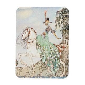 Vintage Fairy Tale, Princess Minette, Kay Nielsen Rectangular Photo Magnet
