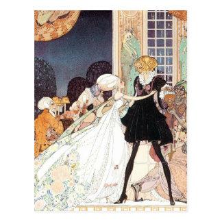 Vintage Fairy Tale Princess Wedding Save the Date! Postcards