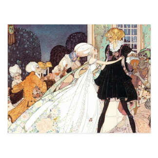 Vintage Fairy Tale Princess Wedding Save the Date! Post Cards