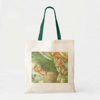 Vintage Fairy Tale, Sleeping Beauty Princess Tote Bag
