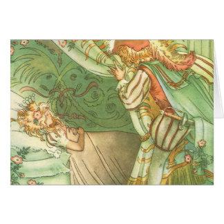 Vintage Fairy Tale, Sleeping Beauty Princess Cards