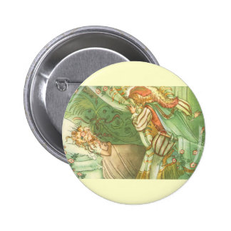 Vintage Fairy Tale, Sleeping Beauty Princess Pinback Button