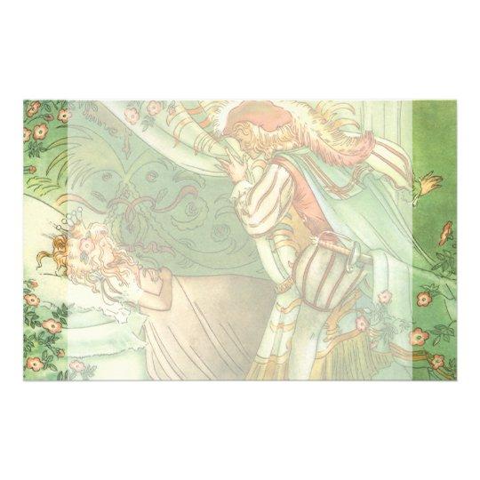 Vintage Fairy Tale, Sleeping Beauty Princess Stationery