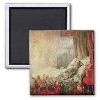 Vintage Fairy Tale, Stuff that Dreams Are Made of 2 Inch Square Magnet