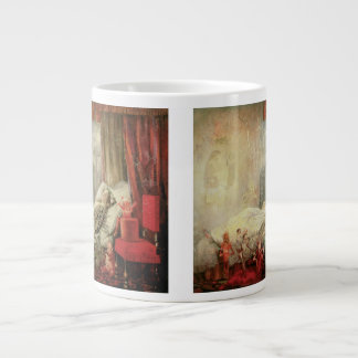 Vintage Fairy Tale, Stuff that Dreams Are Made of Large Coffee Mug