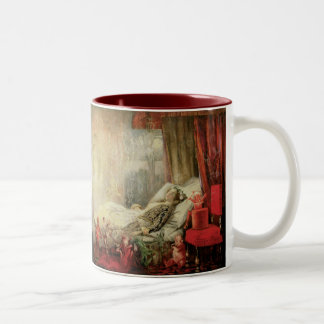 Vintage Fairy Tale, Stuff that Dreams Are Made of Two-Tone Coffee Mug