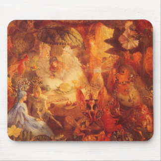 Vintage Fairy Tale The Captive Robin by Fitzgerald Mouse Pad