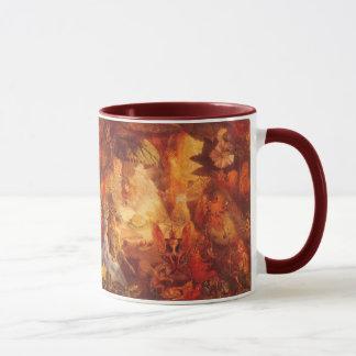 Vintage Fairy Tale The Captive Robin by Fitzgerald Mug