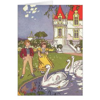 Vintage Fairy Tale, The Ugly Duckling by Hauman Greeting Cards