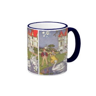 Vintage Fairy Tale, The Ugly Duckling by Hauman Coffee Mugs
