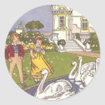 Vintage Fairy Tale, The Ugly Duckling by Hauman Stickers