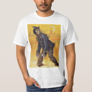 Vintage Fairy Tale, the Wizard of Oz Scarecrow T-Shirt