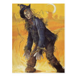 Vintage Fairy Tale, Wizard of Oz Scarecrow Postcard