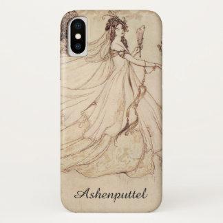 Vintage Fairy Tales, Cinderella by Arthur Rackham iPhone X Case