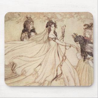 Vintage Fairy Tales, Cinderella by Arthur Rackham Mouse Pad