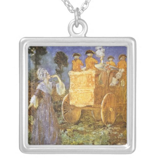Vintage Fairy Tales, Cinderella, Fairy Godmother Custom Necklace