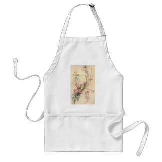 Vintage Fairy Tales, Three Spirits Filled With Joy Adult Apron