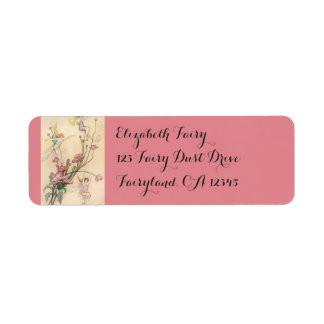 Vintage Fairy Tales, Three Spirits Filled With Joy Label