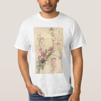 Vintage Fairy Tales, Three Spirits Filled With Joy T-Shirt