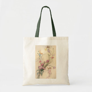 Vintage Fairy Tales, Three Spirits Filled With Joy Tote Bag