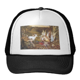Vintage Fairy The Enchanted Forest Trucker Hat