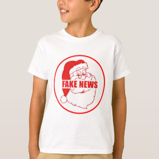 Vintage Fake News Santa T-Shirt