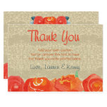 Vintage Fall, Rustic Thank You Cards