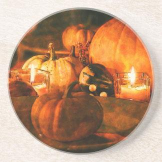 Vintage Fall Scene Drink/Beverage Coaster