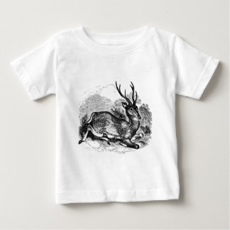 Vintage Fallow Deer Buck Personalized Illustration Shirt