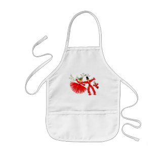 Vintage Family Christmas Kids Apron