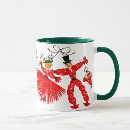 Vintage Family Christmas Mug