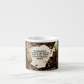 Vintage Family Heirlooms Family Reunion 6 Oz Ceramic Espresso Cup