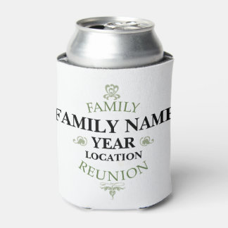 Vintage Family Reunion Can Cooler