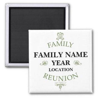 Vintage Family Reunion Magnet
