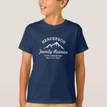 Vintage Family Reunion Trip Cool Mountain Peaks T-Shirt