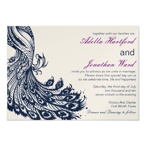 "Vintage Fancy for Alpa Shah 5"" X 7"" Invitation Card"