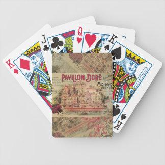 Vintage Fancy Monaco collage Monte Carlo Travel Card Decks