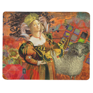 Vintage Fantasy Aries Gothic Whimsical Collage Journal