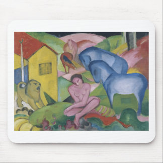 Vintage Fantasy  Painting Entitled 'The Dream' Mouse Pad