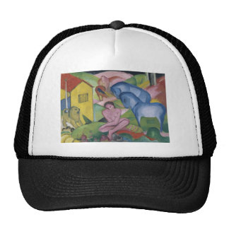 Vintage Fantasy  Painting Entitled 'The Dream' Trucker Hat
