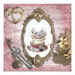 Vintage Fantasy Tea Party Bridal Shower Invitation