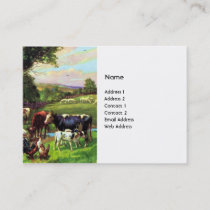 Vintage Farm Business Card